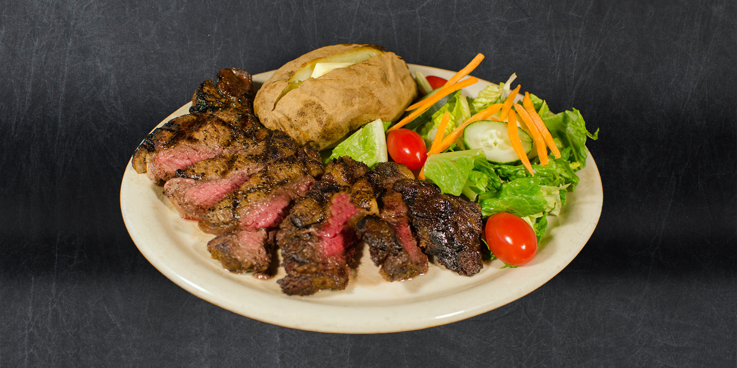 8 oz Sirloin Steak Dinner