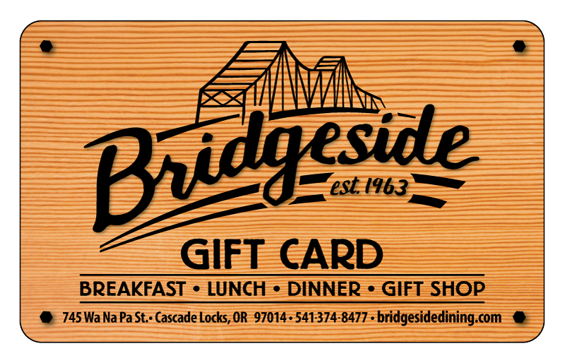Bridgeside Gift Card